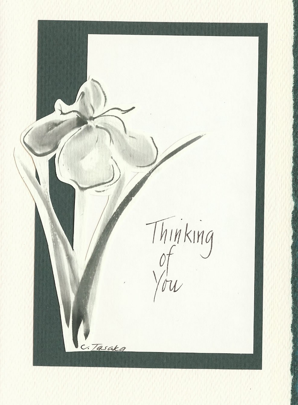 Cheryl Tasaka (thinking of you card)