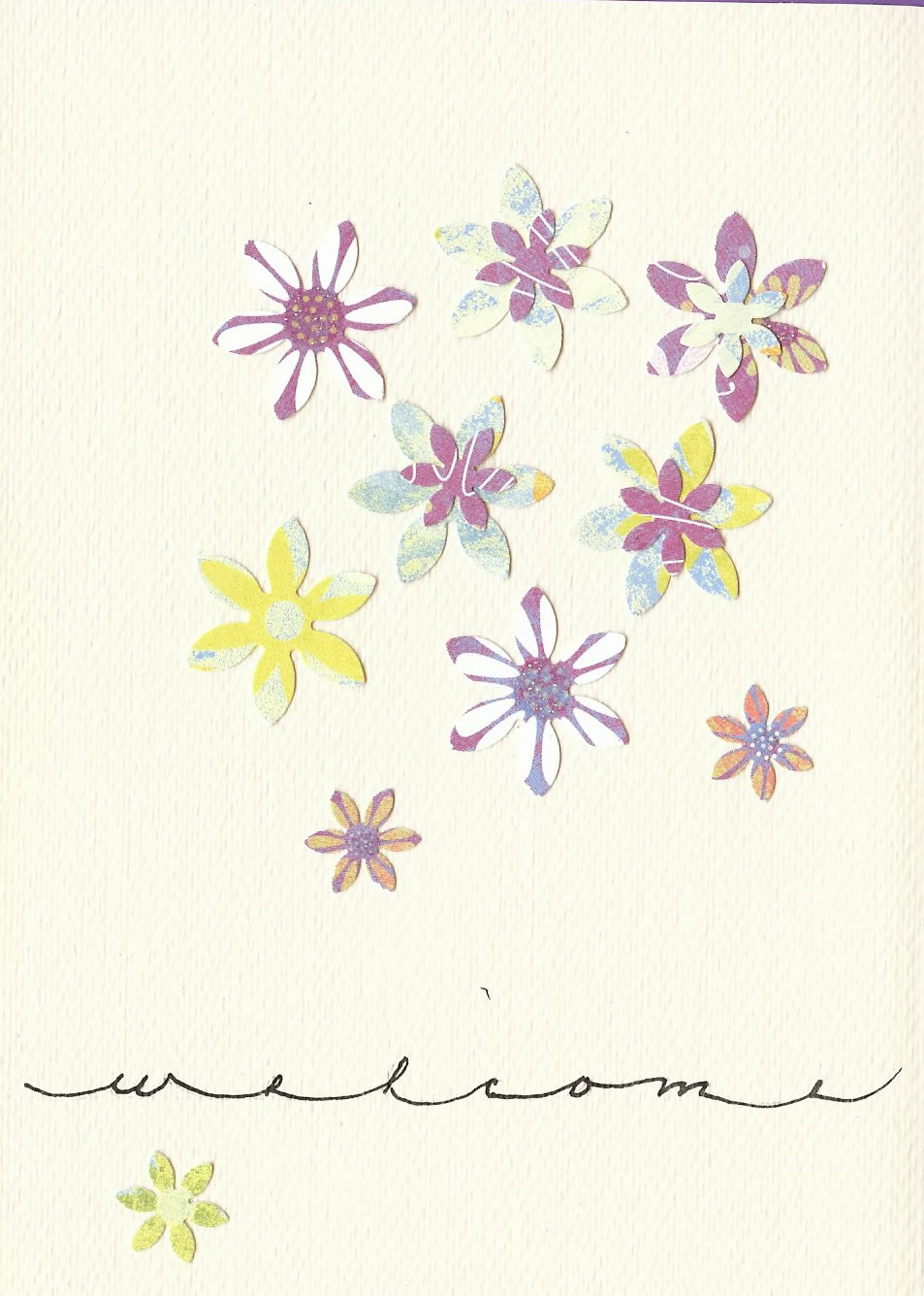 Janice Woodland (welcome card)