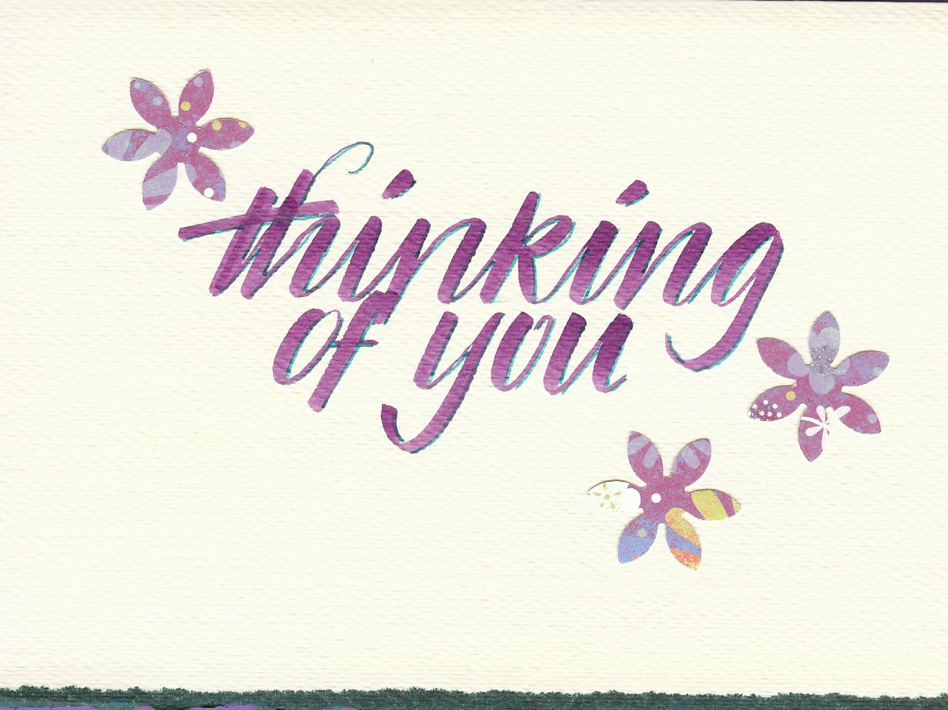 Violet Smythe (thinking of you card)