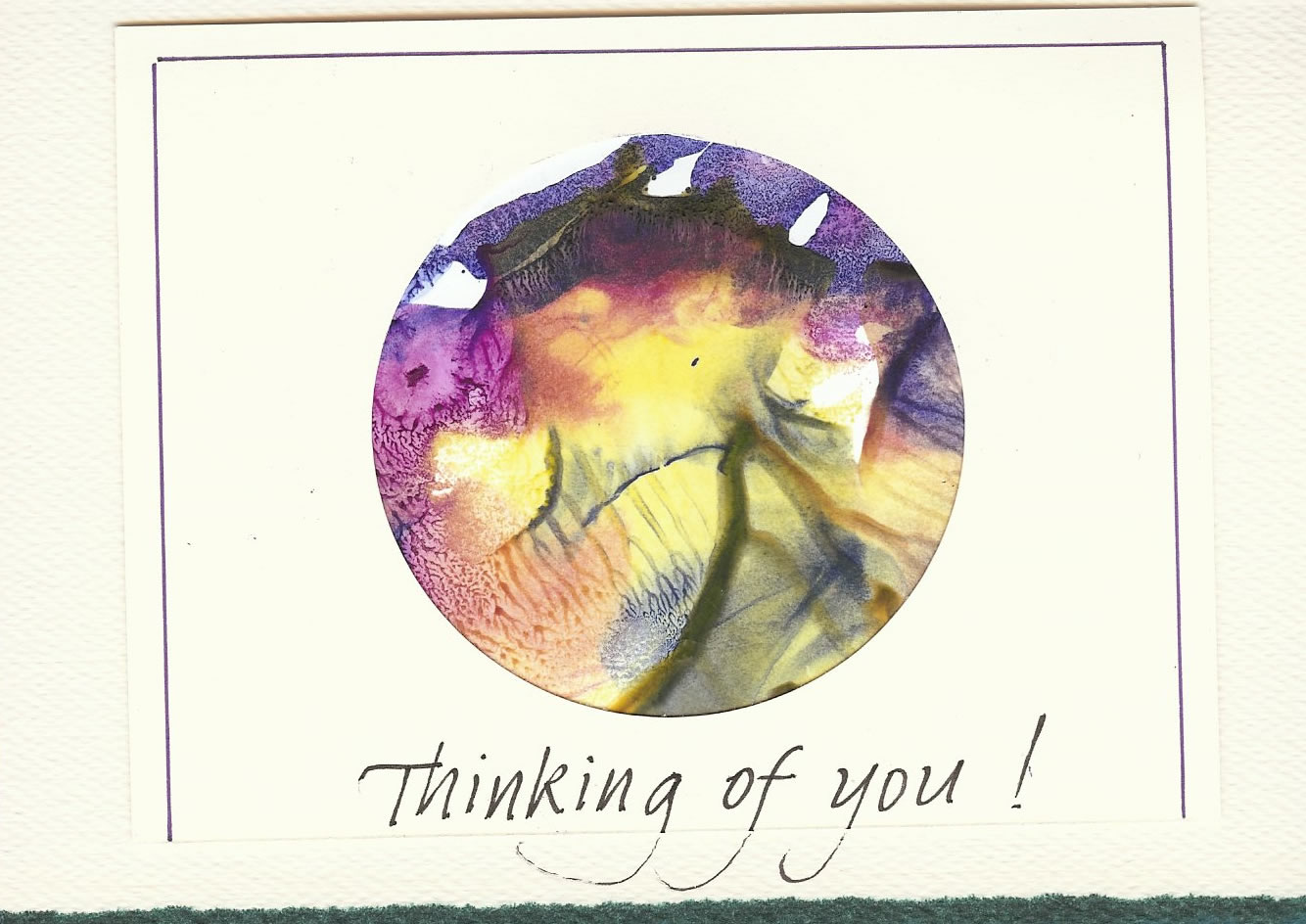 Mary Friesen & Pat Williams (thinking of you card)