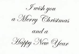 Muriel Dyson - Christmas Card 2010 (inside)