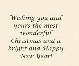 Violet Smythe - Christmas Card 2010 (inside)
