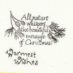 Sherry Springall - Christmas Card 2010 (inside)