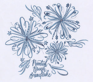 AGM/ Bake Sale / Pointed Brush Snowflakes @ Jericho Hill Centre, West Art Room